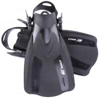 China Adjustable Speed Soft Skin Diving Fins For Diving , Snorkeling , Swimming wholesale