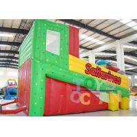 PVC Inflatable Pinball Action Medium With Climbing Slide For Kids Desktop Game