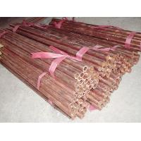 Quality Excellent freezing  seamless red copper pipe / tube ASTM B68 standard / un-standard for sale