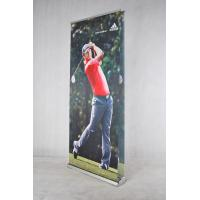 China Roll Up Retractable Signs Banners , 85 * 200 Cm Retractable Advertising Banners wholesale