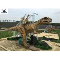 China Outside Realistic High Simulated Ride Along Dinosaur Kiddie Rides Toys on sale