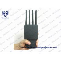 China Handheld 8 Bands All CellPhone and WIFI GPS Signal Jammer with Nylon Case wholesale