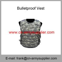 Wholesale Wholesale Cheap China NIJ IV Full Protection Bulletproof Jacket with Plate from china suppliers