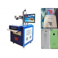 China 3W Plastic UV Laser Marking Machine , 355nm Laser Printing Machine wholesale