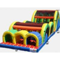 China inflatable obstacle course / inflatable tunnel obstacle course for kids play wholesale