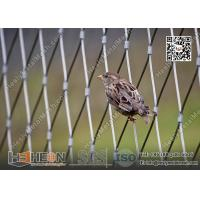 China 316L Stainless Steel Wire Cable Bird Cage for Zoo Enclosure | China Zoo Mesh Factory wholesale