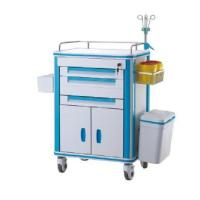 Buy cheap Hospital Use Medical Emergency Trolley Cart Four Silent Castors 630*470*1500mm from wholesalers