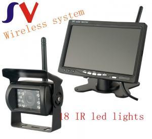 China 2.4G Waterproof  Wireless Backup Cameras Vehicles 480 TV Lines wholesale