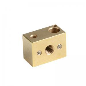 China M3 16mm*22mm*12mm High Temperature Copper Heat Block E3D Heat Block wholesale