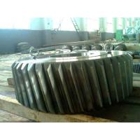 China Helical Transmission Gear Forging For Wind Power , Hot Forged Steel Flange Outer Ring wholesale