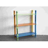 China 70CM Height Colorful Crayon Design 3 Layer Storage Shelves Toy Organizer wholesale