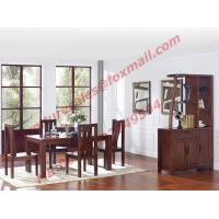China Rectangular Table made by Solid Wooden in Dining Room Set wholesale