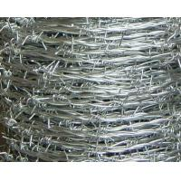 China Electro Galvanized Barbed Wire Traditional Twist / Double Twist / Single Wire Type wholesale