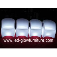 China Unique Shape Color Changing Club Bar LED Chair Light with IR / RF Remote Controller wholesale
