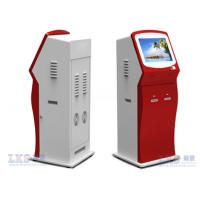 China Indoor Free Standing Card Dispenser Kiosk with Touch Screen Use In Bank wholesale