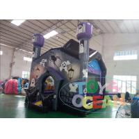 China Halloween Carnival Inflatable Bounce House Bouncer Jumping Castle Haunted House wholesale