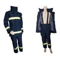 China Navy blue 4 layers Nomex fire fighting suit (EN496:2005) wholesale