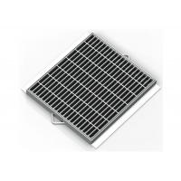 Commercial Trench Steel Grates For Trench Drains Great Corrosion / Rust Protection