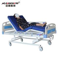 Buy cheap Three Cranks Manual Hospital Beds , Adjustable Patient Bed Easy Operation With from wholesalers