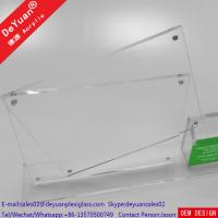 China Plastic Menu Holder Table Stand Usage With Bussiness Card Box wholesale