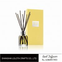 Promotional Home Reed Diffuser Colorful Folding Box Packing For Residential Ornaments