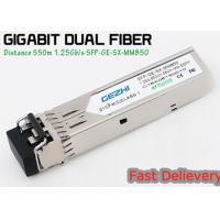Wholesale 1.25G 850nm Fp 550m Lc Mmf Small Form Factor Pluggable Transceiver Fcc Compliant Sfp from china suppliers
