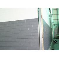 China Commercial Exterior Structural Rustic Metal Wall Panels , Metal Wall Covering Materials on sale