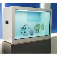 China Capacitor Touch 55 Inch Transparent Showcase , ROHS LCD Transparent Display wholesale