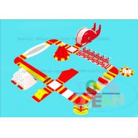 China 0.9MM PVC Giant Inflatable Water Park For Adults And Kids Entertainment Play Fun wholesale