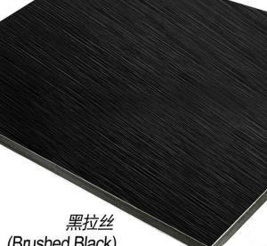 China 5mm Black Mirror ACP wholesale