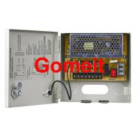 China 4 Channel CCTV Camera Power Supply Box , Security CCTV Power Supply 12v 5amp Long Service Life wholesale