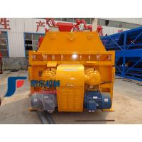 China Mobile Self Loading Concrete Mixer Machine JS750 With Automatic Feeding Twin Shaft JS on sale
