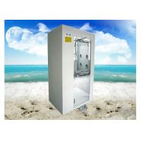 China Intelligent SUS304 / SUS201 Stainless Steel Air Shower With HEPA Filter wholesale