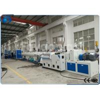 China 50~160mm PVC Pipe Extrusion Machine / UPVC Extrusion Machinery Double Screw wholesale