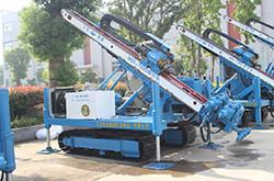 China Anchor Drilling Depth 170m Construction Drill Rigs wholesale