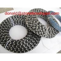 Diamond wire for marble quarry