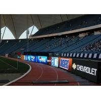 China DIP 346 P10 Stadium LED Screen / Sport Perimeter LED Display 6000 cd/㎡ wholesale