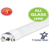 China Commercial Complexes Glass 80 RA T8 UL LED Tube 600mm 9w / 18w wholesale
