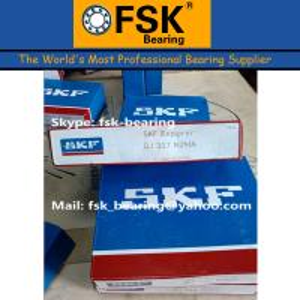 China Air Compressor Bearings SKF QJ317N2MA Four Point Angular Contact Ball Bearing wholesale