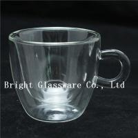 China espresso cups, double wall thermo glasses, blown glass coffee cup, tea cup wholesale