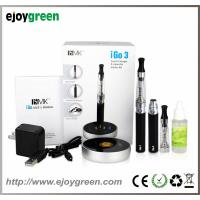 China 2014 latest Green Electronic Cigarette e-cigarette model iGo3 with touch charger wholesale