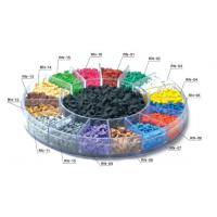 Noise Reduction EPDM Rubber Granules Walkway / Jogging Track Colorful Crumb