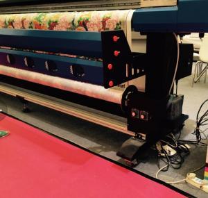 Quality 3.2M A-Starjet 7703L Soft PVC Ceiling Film Eco Solvent Printer with 3 pcs DX7 for sale