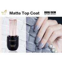 China Long Lasting UV Top Coat Gel Nail Polish For Nail Beauty Salon No Burn wholesale
