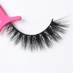Full Strip 3D Mink Lashes Mink Fur Eyelash Extensions Natural Looking