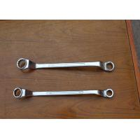 Electric Double Offset Ring Spanner Wrench Carbon Steel For Tightening