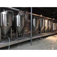 2000L Large Scale Brewing Equipment 304 Sanitary Pumps With VFD Controls for sale