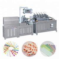 China Automatic Multi Cutter Colorful Paper Drinking Straw Tube Pipe Making Machine wholesale
