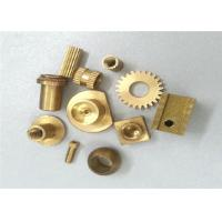 Metal Gear Brass Machined Parts Stamping 0.01 Tolerance ISO Certification