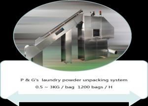 China Small 30 Bags/H Automatic Slitter For With Hopper Screw Feeder wholesale